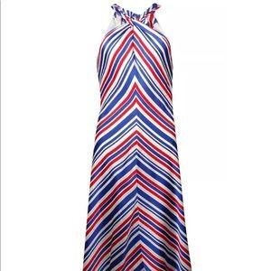 Lauren Ralph Lauren women's striped halter dress